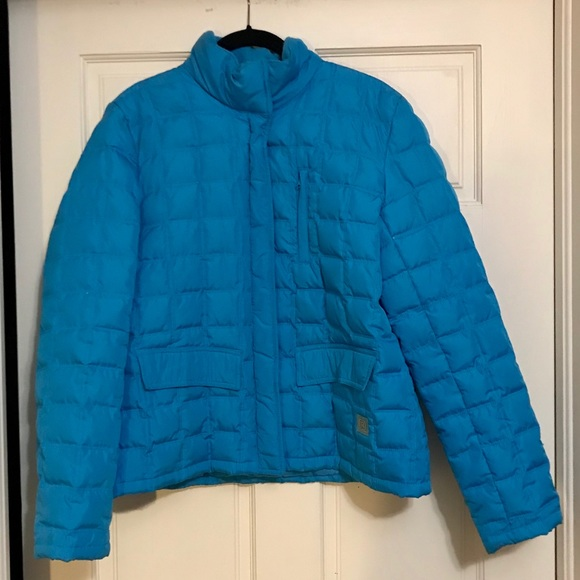 Kenneth Cole Reaction Jackets & Blazers - Turquoise down jacket